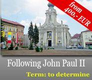 Following John Paul II places