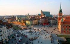 Warsaw, The Castle Square - fot.: M. i E. Wojciechowscy, http://tripsoverpoland.eu