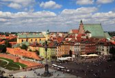 Warsaw, The Old Town with the Royal Castle - fot.: M. i E. Wojciechowscy, http://tripsoverpoland.eu
