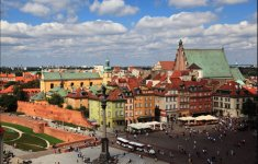 Warszawa, Plac Zamkowy - fot.: M. i E. Wojciechowscy, http://tripsoverpoland.eu